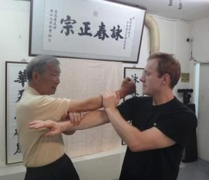 Sifu Antonio Bacino Ip Ching Wing chun Hong kong