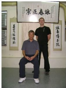 Sifu Antonio Bacino Ip Ching Wing chun